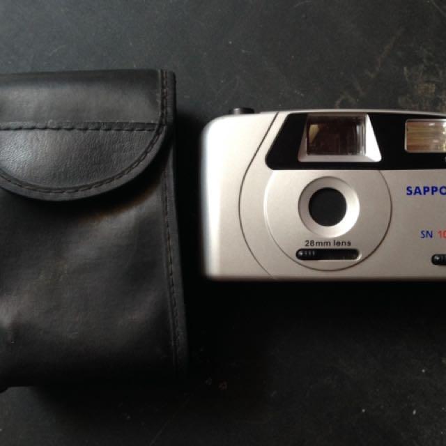 Pocket Camera Sapporo Analog Film