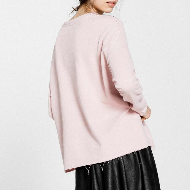 PULL & BEAR Basic Oversized Sweatshirt, Women's Fashion, Clothes ...