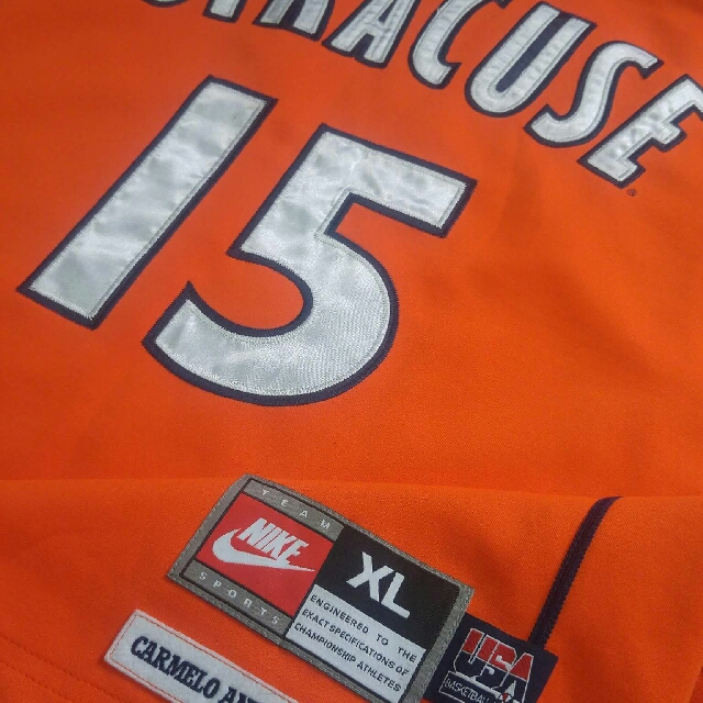 RARE nike Anthony SYRACUSE authentic jersey球衣 808776d0f