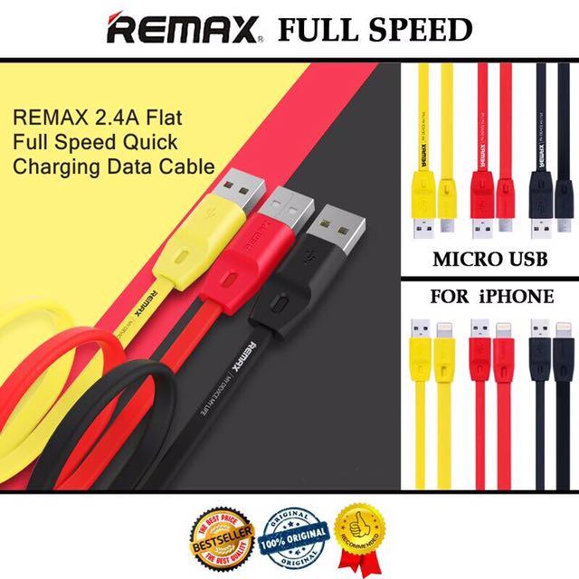 REMAX CABLE FULL SPEED ORIGINAL