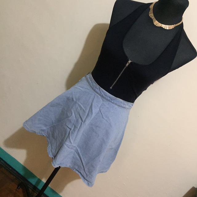 REPRICED - Denim Skirt