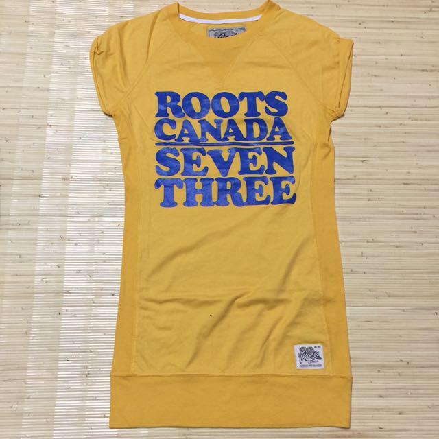 Roots 長版T