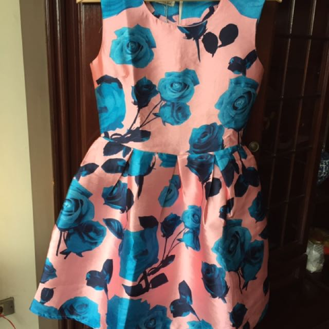 Rose flower dress