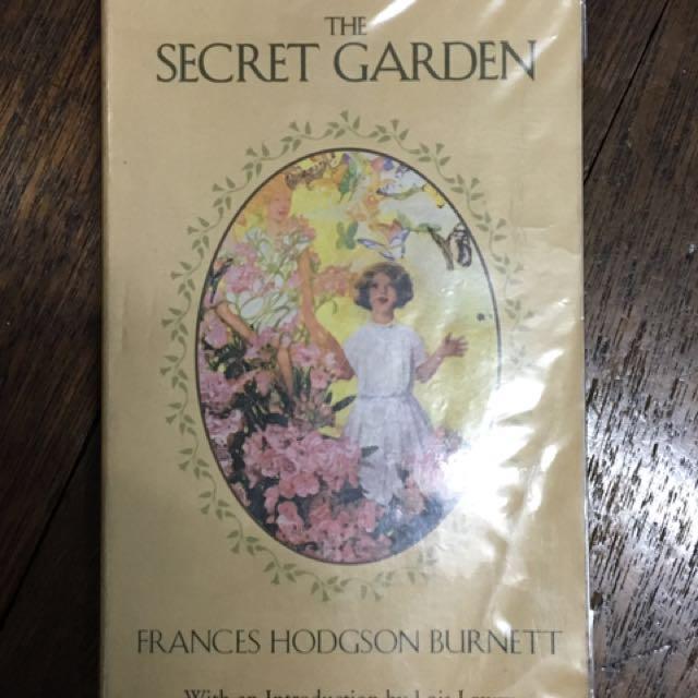 Secret Garden by: frances hodgson burnett