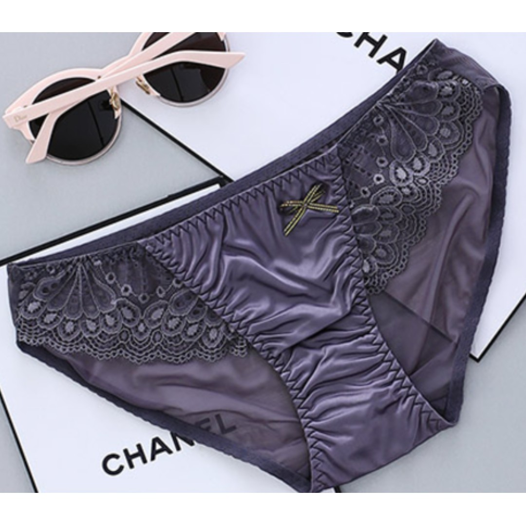 9a93f186c1c Silk Lace Lingerie Underwear