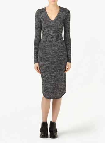 size small/  Wilfred Free lisière dress/ Heather Black