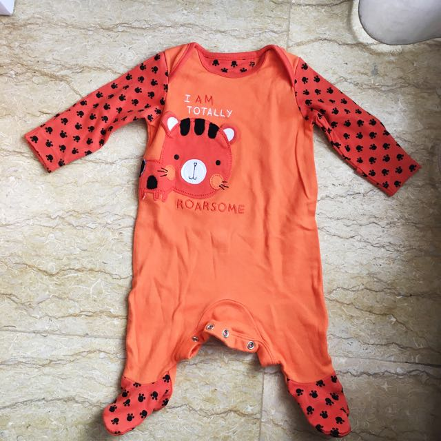 Sleepsuit Mothercare (Tiger)
