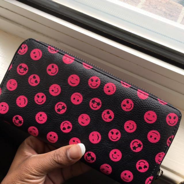 Smiley Face Wallet