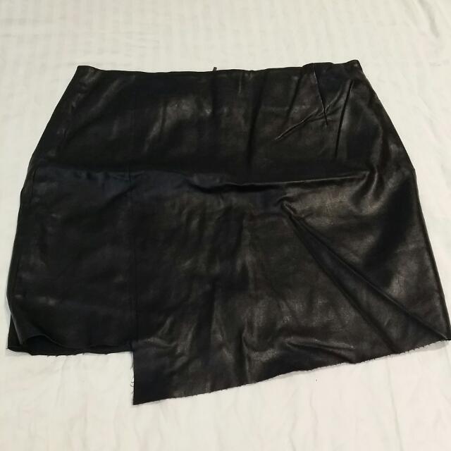 Sport girl Leather Skirt