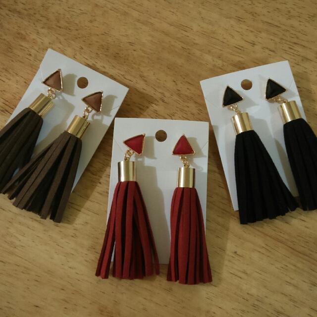 Tassel Earrings 💕