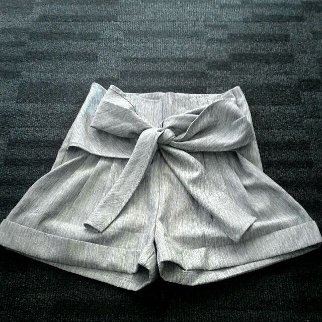 Tie Up Bow Shorts
