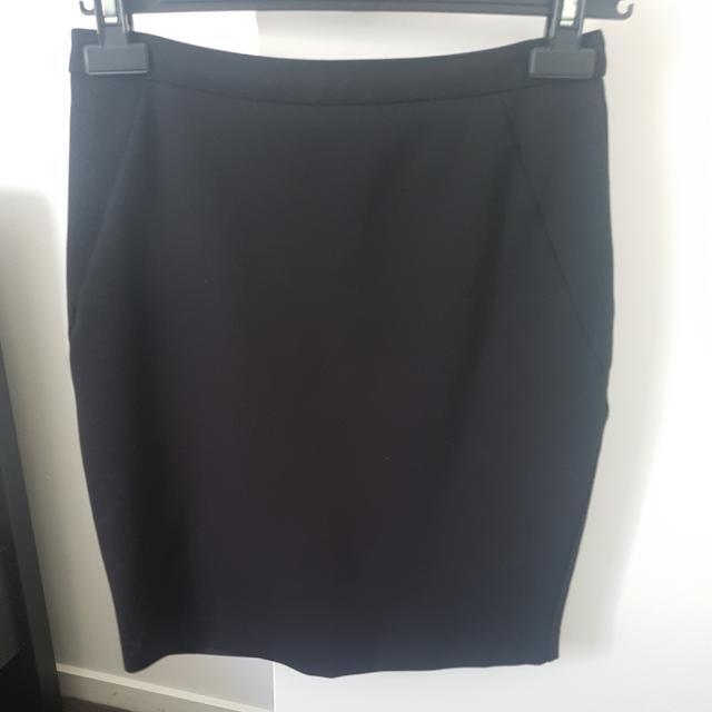 Tokito black pencil skirt size 8