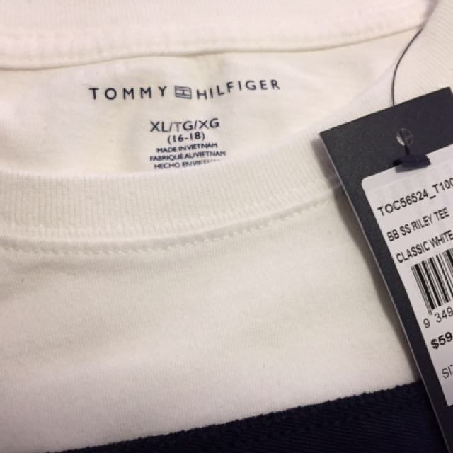 Tommy Hifilger Big logo on top T-shirt