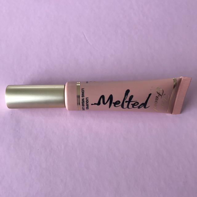 Too Faced Melted Matte Lipstick - Sugar
