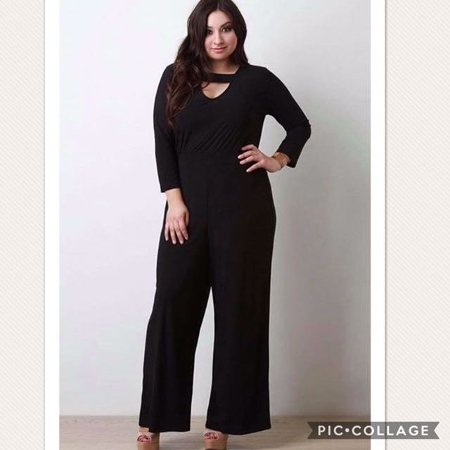 a9436373a9a98 Top and loose pants plus size terno