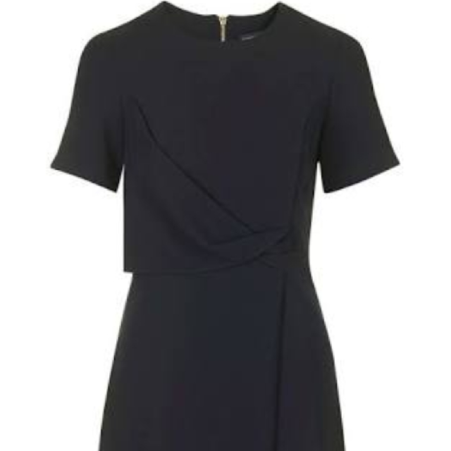 Topshop Navy blue shift dress size 10
