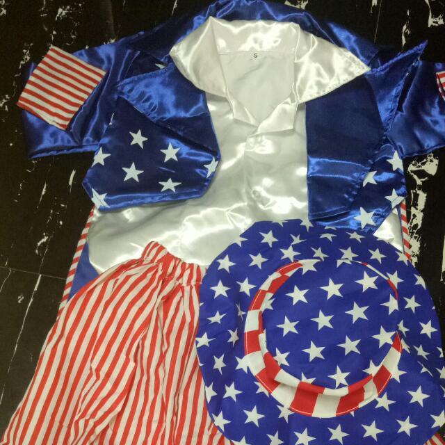 USA America Costume United Nation