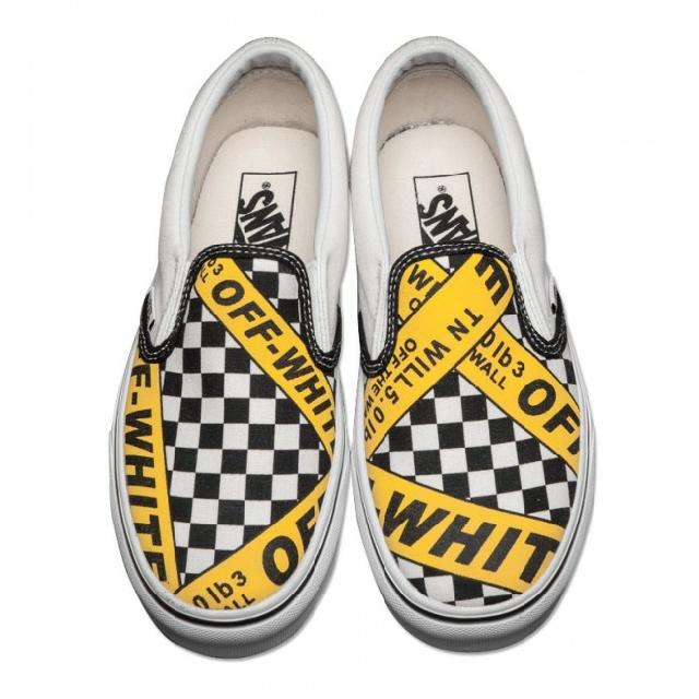 37d990239578d6 Vans x Off White Slip-on(pre order)