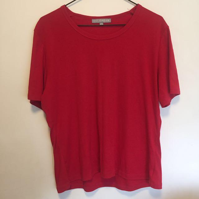 Vintage Red Tshirt