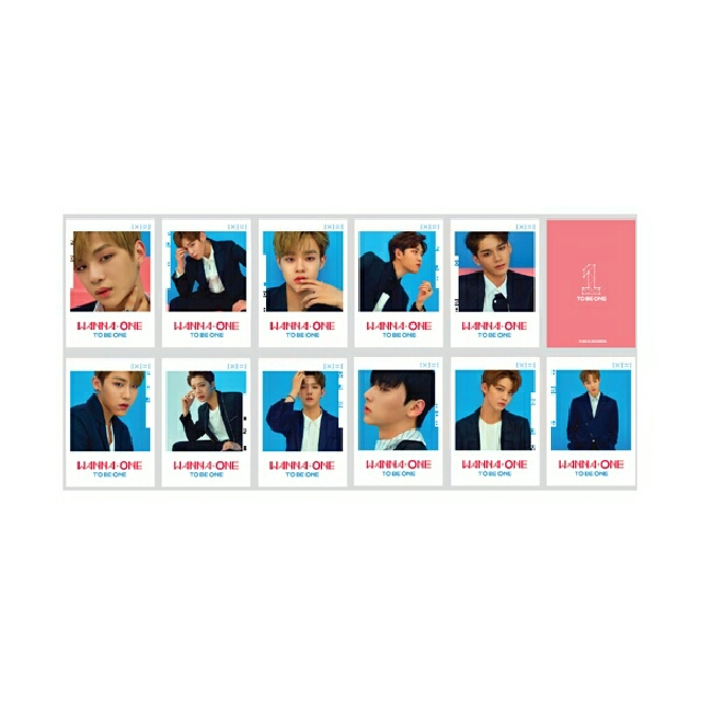 Wanna One Official Post Cards