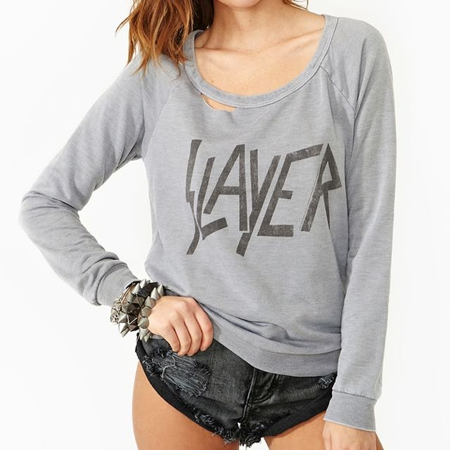 dad23e13a3ca7 XS CHASER LA NASTY GAL SLAYER KNIT IN GREY