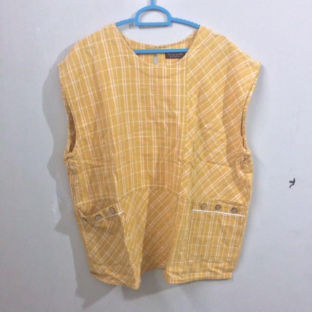 Yellow grid oversize