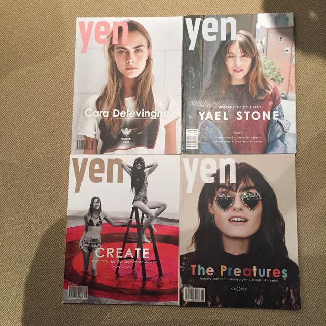 Yen magazines