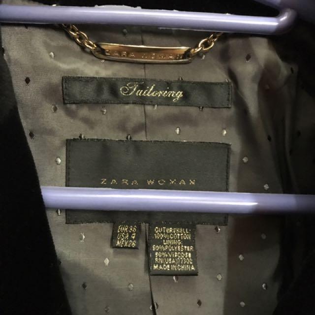 Zara Woman Tailoring Blazer