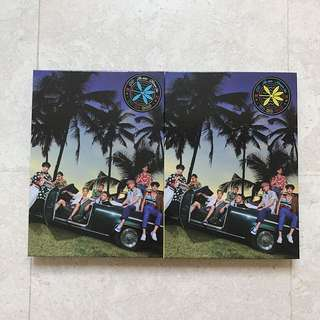 [INSTOCKS] EXO KOKOBOP THE WAR UNSEALED PRIVATE VERSION ALBUM