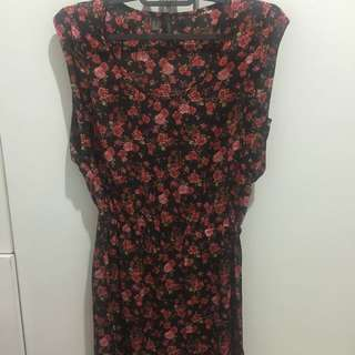 Mango Flowery Dress