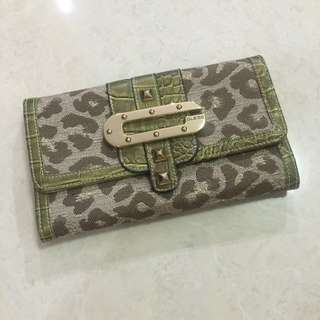 Green Guess Wallet