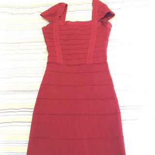 Marciano red dress xs