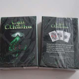 Call of Cthulhu Playing Cards (Unlimited)