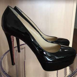 Christian Louboutin Patent Bianca 120 Heels For Sale