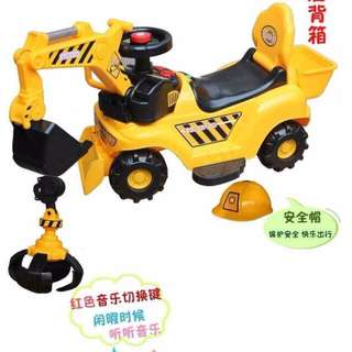 Loader Crane Ride On Car for Kids
