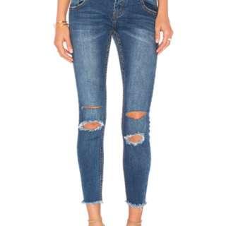 One teaspoon freebirds jeans /bonnie blue w24