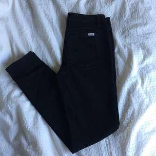Wrangler Black Jeans
