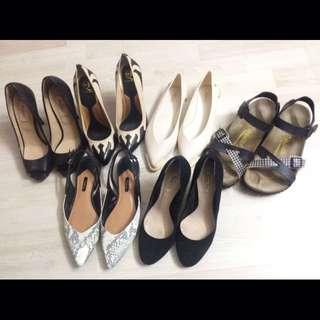 Branded shoes / heels galore sales