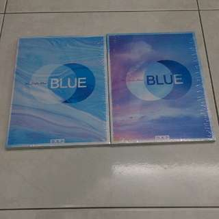 [Ready Stock] B.A.P 7th Single Album Blue BAP