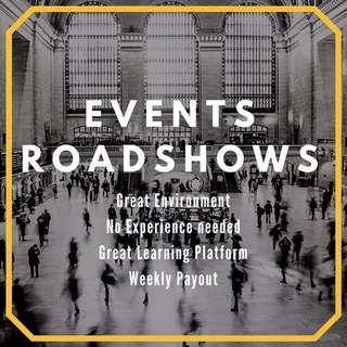 Events/Roadshows helpers