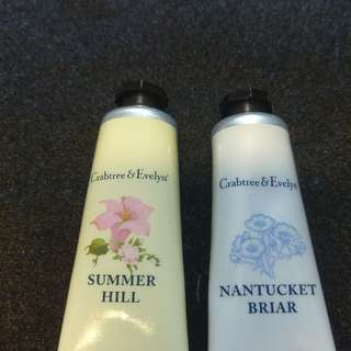 Crabtree & Evelyn hand cream (all shown)