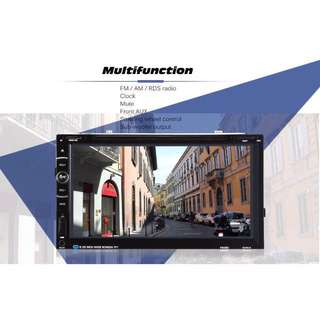 Universal car dvd player with 6.95 inch display