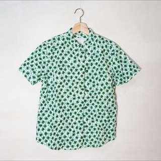 中式花朵襯衫
