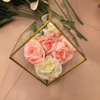 婚宴用品 Flower 仿真玫瑰花頭