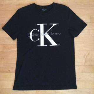 Black Calvin Klein shirt