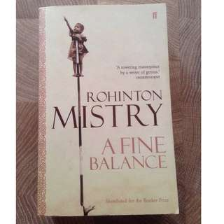 A Fine Balance by Rohinton Mistry (Paperback)