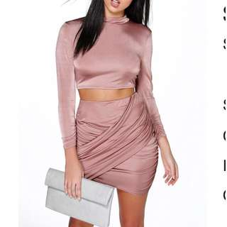 Boohoo skirt and top set