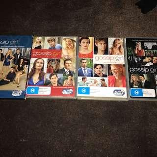 Gossip girl DVD sets