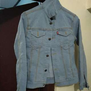 Jaket Jeans Bioblitz L