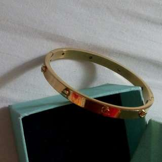 Stainless Steel Cartier Bangle